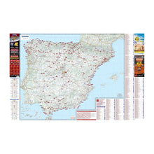Load image into Gallery viewer, Michelin Spain Trailer's Park Aires Map