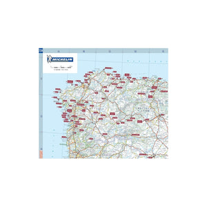Michelin Spain Trailer's Park Aires Map