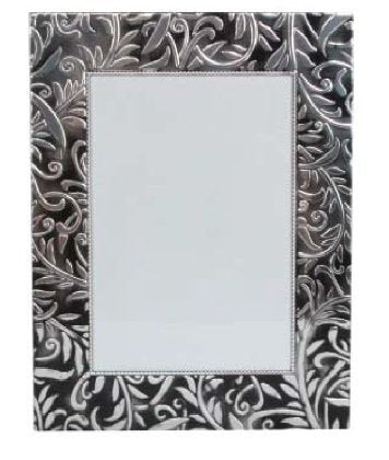 Gisela Graham - Pewter Embossed Photo Frame
