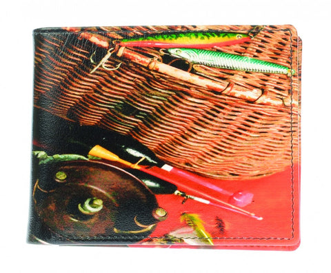 Golunski Retro Bi Folding Wallet - Fishing Tackle-Wallets-Golunski-The Fabulous Gift Store