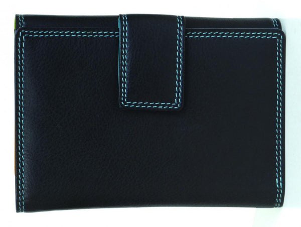 Golunski : Black Tropical - Ladies Leather Wallet Purse