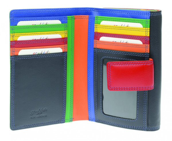 Golunski : Caribbean Midnight - Ladies Leather Wallet Purse-Wallets-Golunski-The Fabulous Gift Store