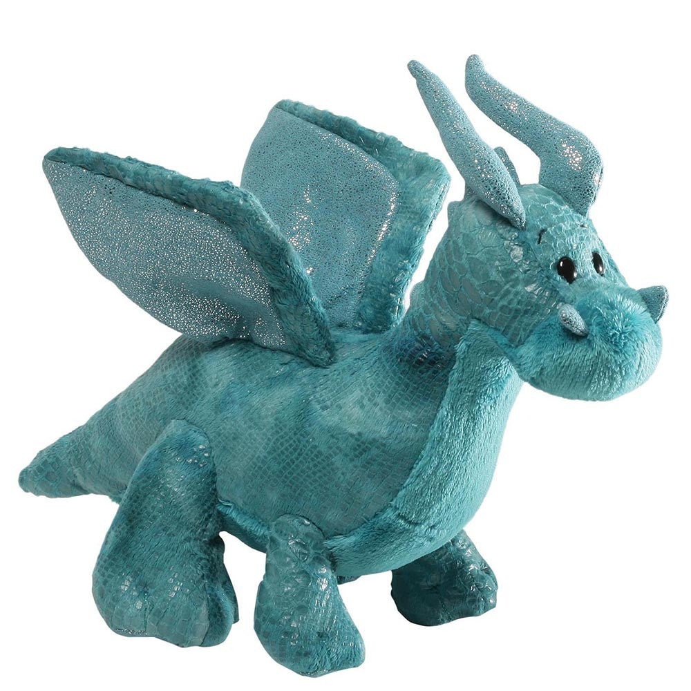 Gund - Rubble Teal Dragon-Soft Toys-GUND-The Fabulous Gift Store