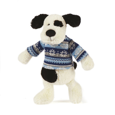 Jellycat - Paxton Puppy Winter Warmer £15.90-Soft Toys-Jellycat-The Fabulous Gift Store