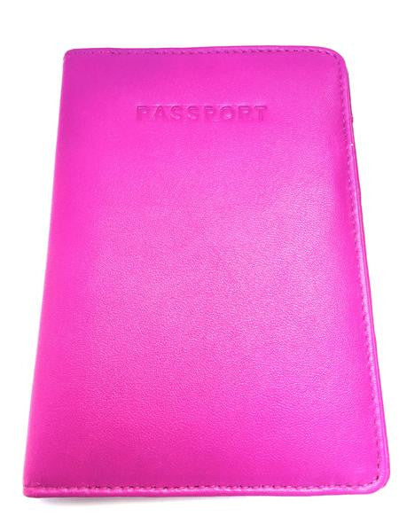 Golunski : Passport Holder - Pink-Wallets-Golunski-The Fabulous Gift Store