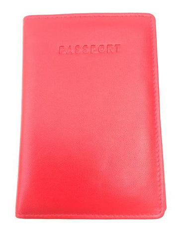 Golunski : Passport Holder - Red-Wallets-Golunski-The Fabulous Gift Store