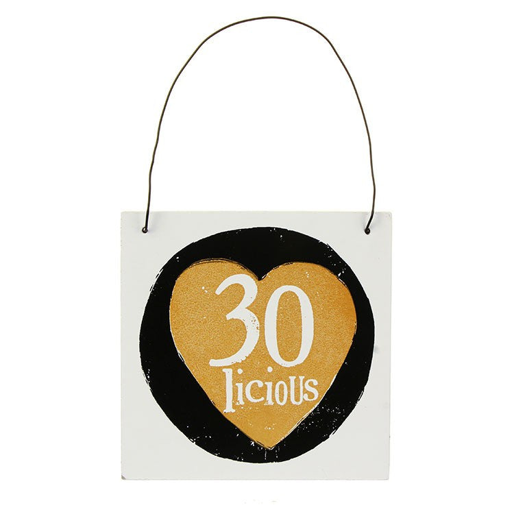The Bright Side - 30 Licious Sign
