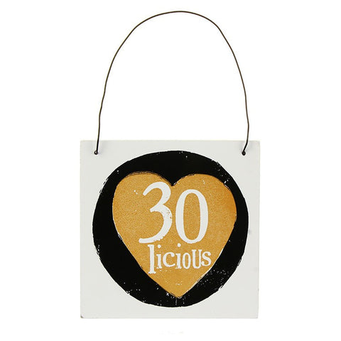 The Bright Side - 30 Licious Sign-Signs-The Bright Side-The Fabulous Gift Store