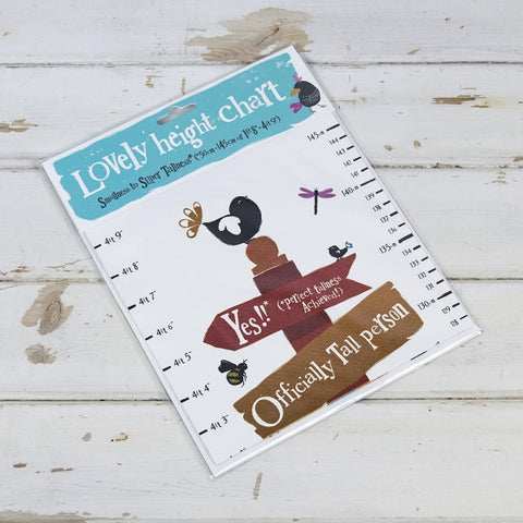 The Bright Side - Lovely Height Chart-Homewares-The Bright Side-The Fabulous Gift Store