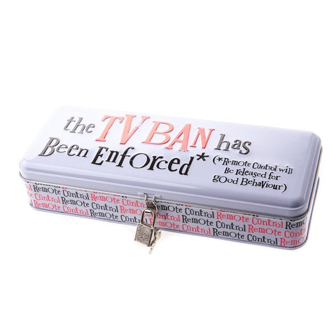 The Bright Side - TV Remote Control Ban Tin-Storage Tins-The Bright Side-The Fabulous Gift Store