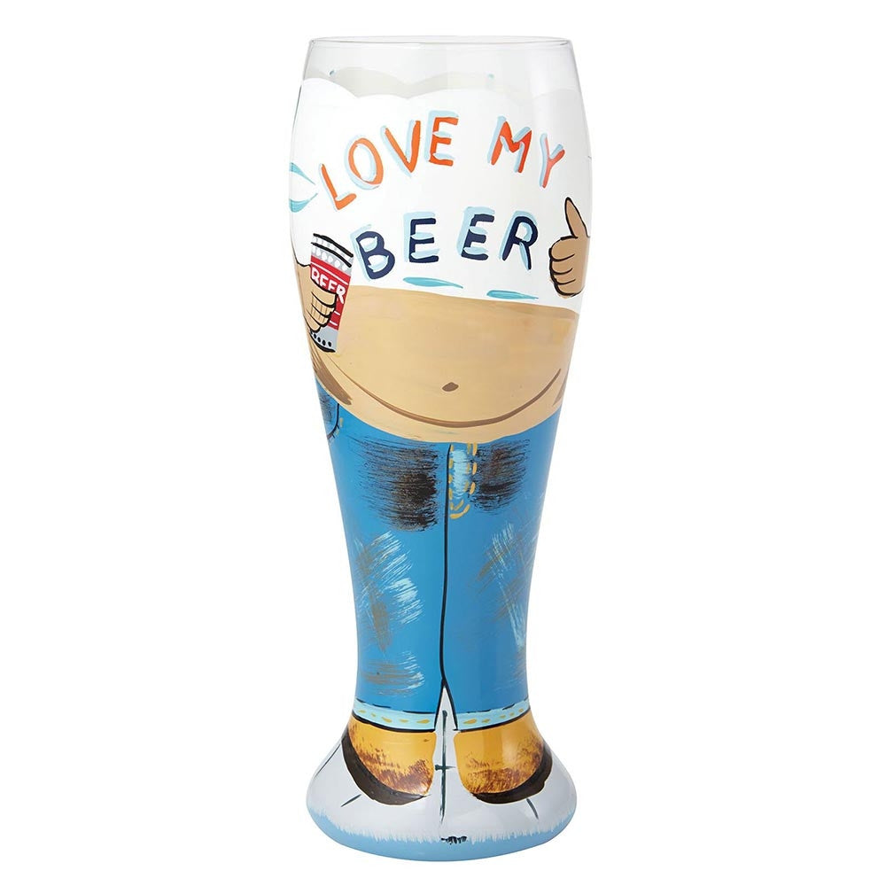 Lolita Beer Glass - Beer Belly-Glasses-Lolita Glasses-The Fabulous Gift Store