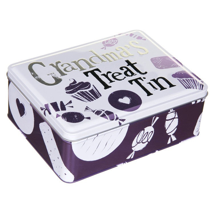 The Bright Side - Grandma's Treat Tin-Storage Tins-The Bright Side-The Fabulous Gift Store