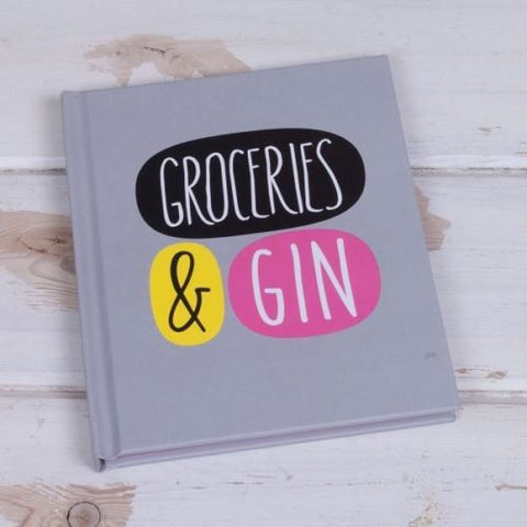 Deck Chair - Groceries & Gin Notebook