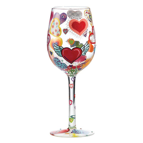 Lolita Wine Glass - Heart-rageous