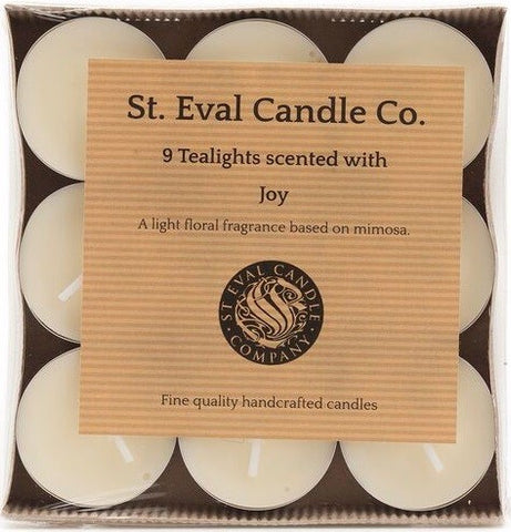 St Eval Tealights - Joy-Candles-St Eval-The Fabulous Gift Store