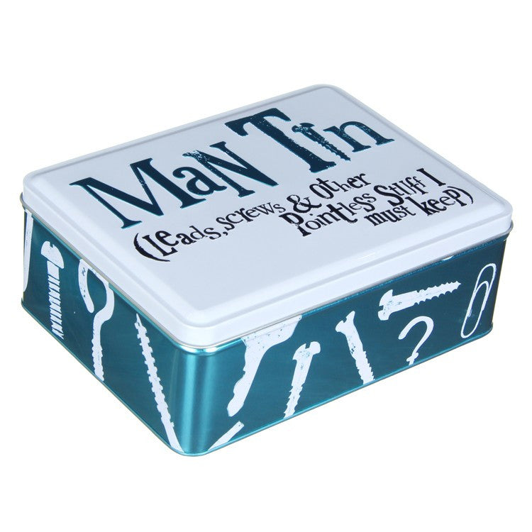 The Bright Side - Man Tin-Storage Tins-The Bright Side-The Fabulous Gift Store