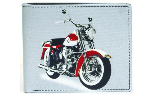 Golunski Retro Tri Folding Wallet - Motorbike-Wallets-Golunski-The Fabulous Gift Store