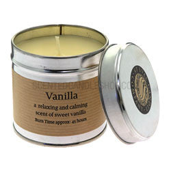 St. Eval Scented Candle Tin - Vanilla-Candles-St Eval-The Fabulous Gift Store
