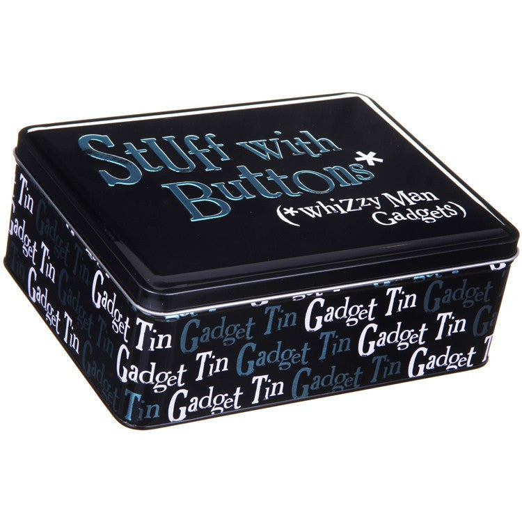 The Bright Side - Stuff With Buttons Tin-Storage Tins-The Bright Side-The Fabulous Gift Store
