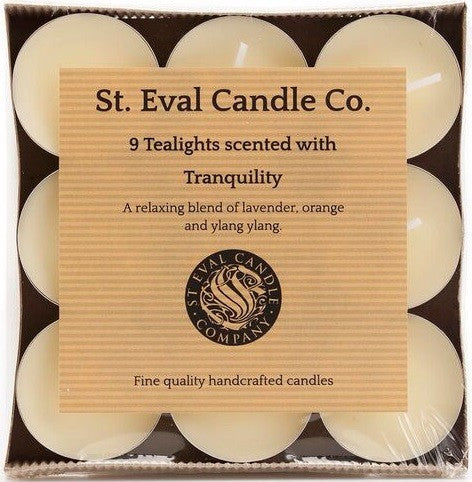 St Eval Tealights - Tranquility-Candles-St Eval-The Fabulous Gift Store