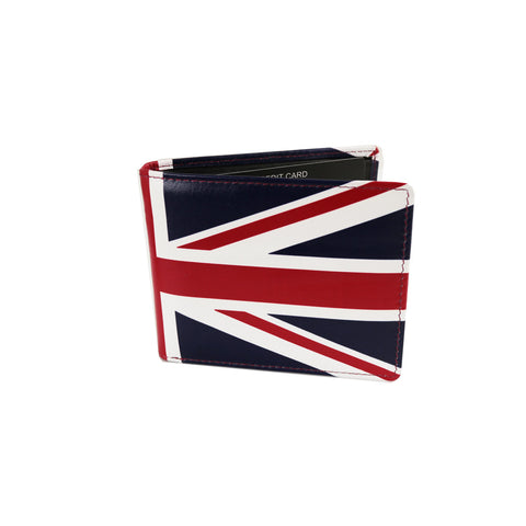Golunski Retro Tri Folding Wallet - Union Jack-Wallets-Golunski-The Fabulous Gift Store