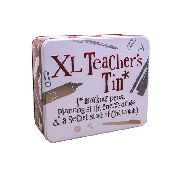 The Bright Side - XL Teacher's Tin-Storage Tins-The Bright Side-The Fabulous Gift Store