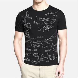 Popular Line-Fashion Brand New School Formula Shirts T Shirt 4 Colors 5 Sizes Fashion Tops Tees Abstract T-Shirt O-neck TX87-C