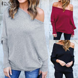 Womens off Shoulder Tee