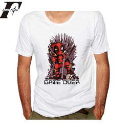 LUCKYFRIDAY game of thrones T-shirt for Men 2017  Men 's deadpool t shirt  summer 3D Printed male TShirts tee tops clothing