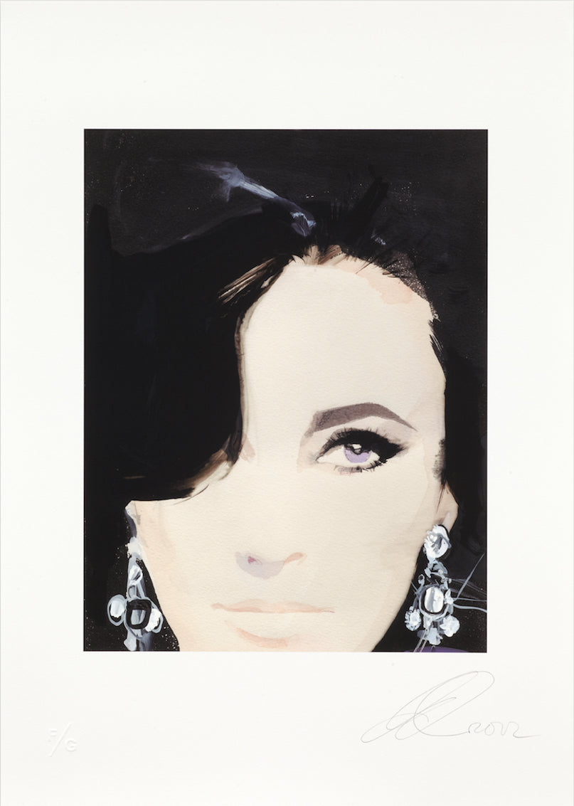 David Downton - Elizabeth Taylor