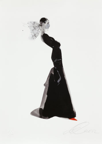 David Downton - Yves Saint Laurent 2006