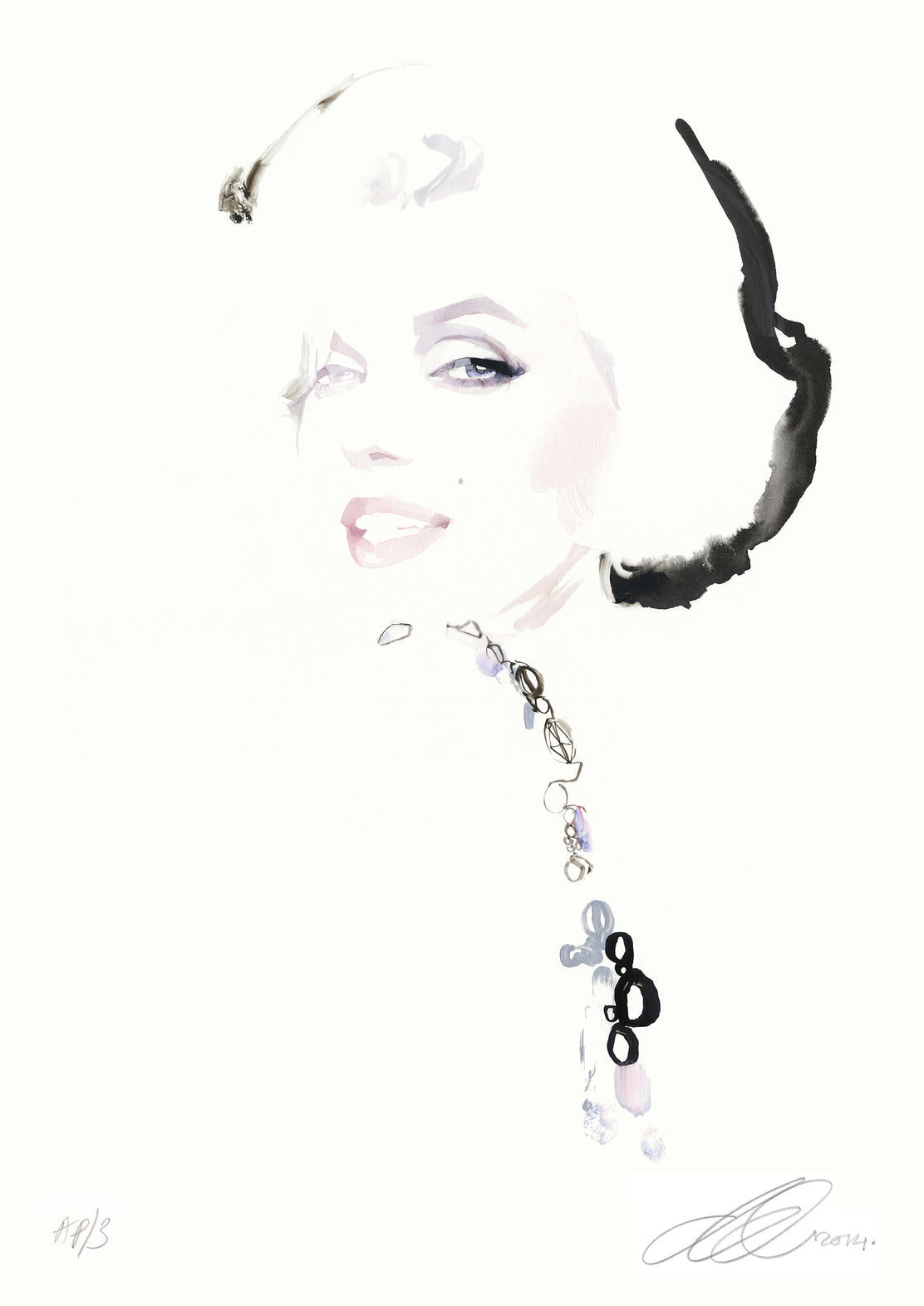 David Downton - Marilyn Monroe