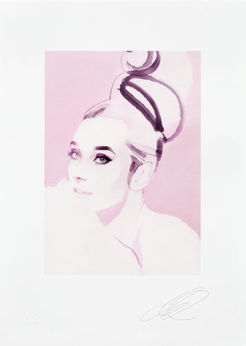 David Downton - Audrey Hepburn