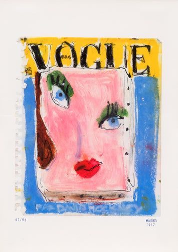 Richard Haines - Vogue Paris, Décembre1985 - Janvier 1986