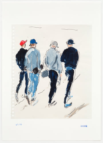 Richard Haines - Four Guys Walking