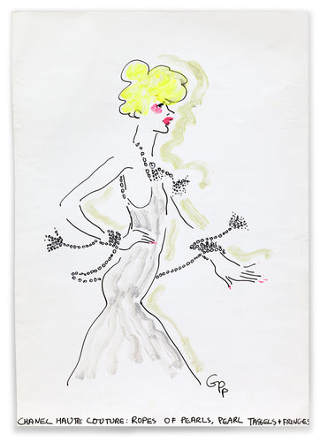 Gladys Perint Palmer - Chanel Haute Couture Blond