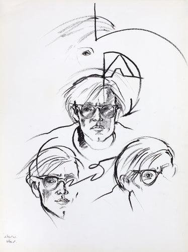 Antonio López - Andy Warhol, Broadway Studio, NYC 1973