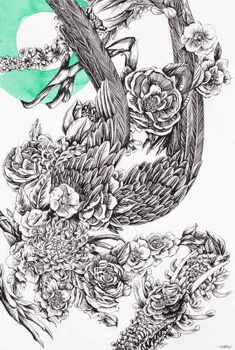 Richard Gray - Floral Dragon