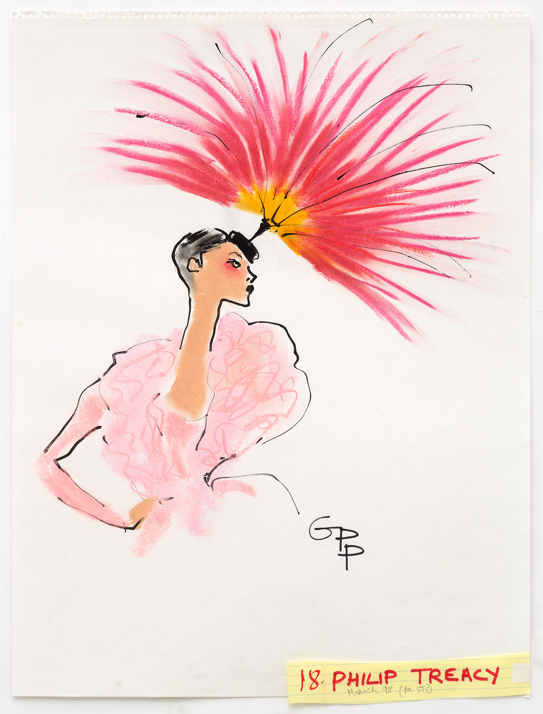 Gladys Perint Palmer - Philip Treacy for Sunday Times Style