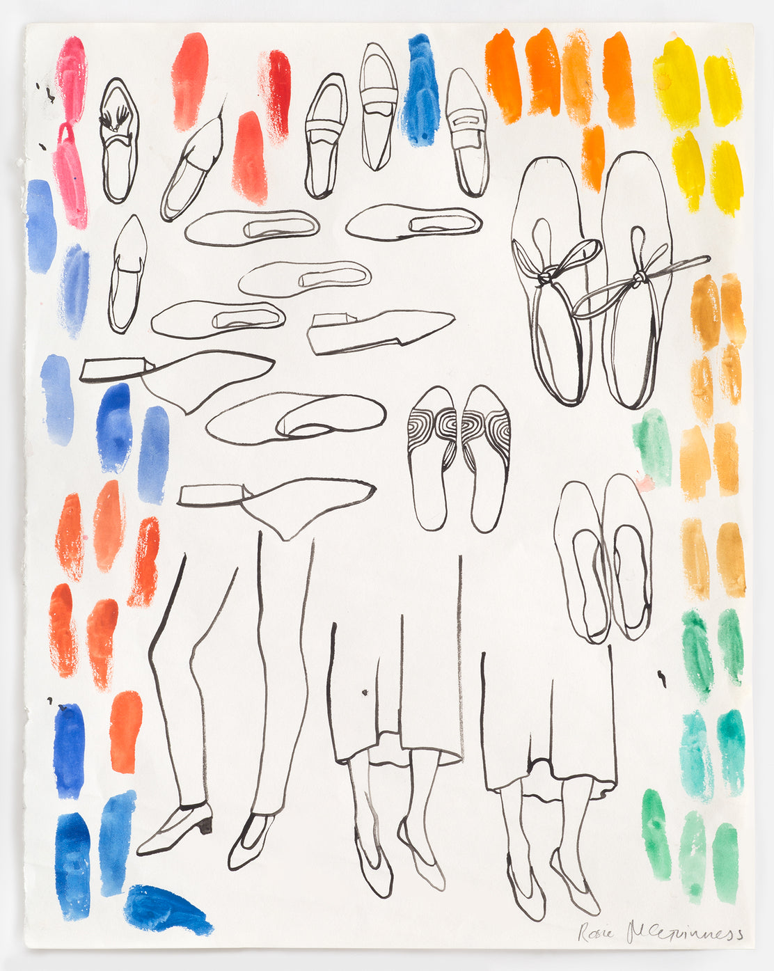 Rosie McGuinness - Shoe Working Drawing