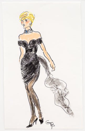 Gladys Perint Palmer - Princess Diana's FU Dress by Christina Stambolian