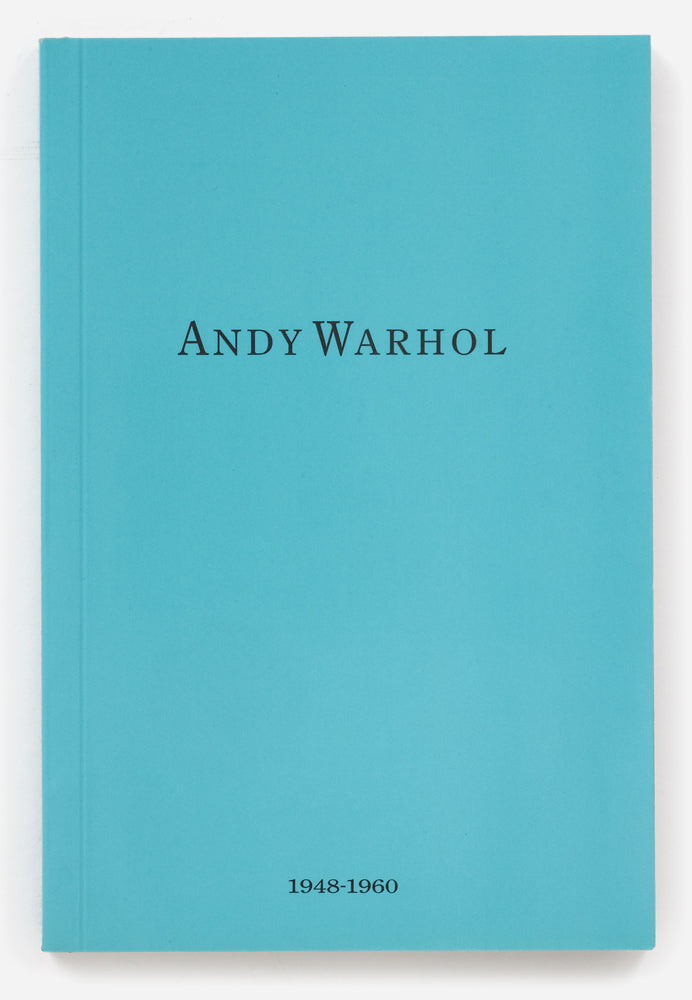 Andy Warhol - 1948-1960, Book