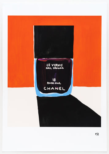Christina Zimpel - Chanel Rouge Noir / Orange