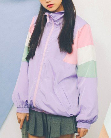 PASTEL JACKET (multi color selection)