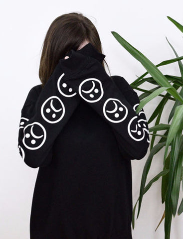 So sad long sleeve (B/W)