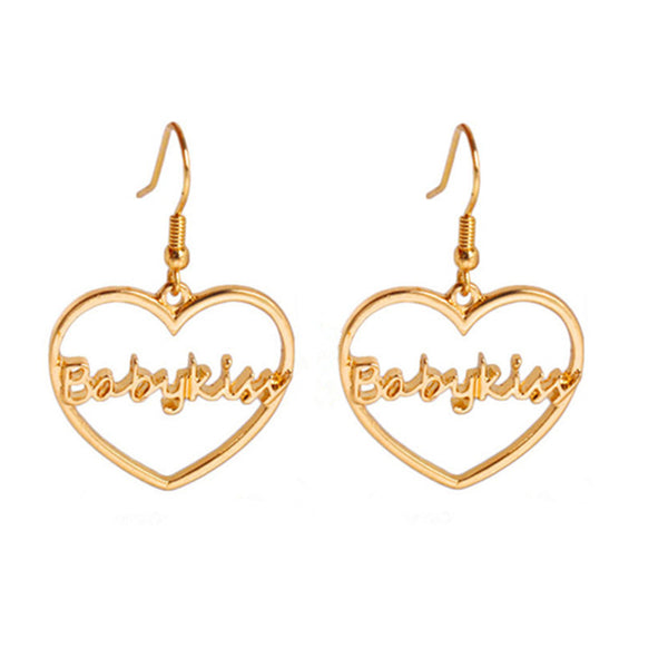 """Babykiss"" Heart Earrings"