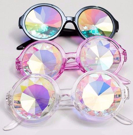 Rad kaleidoscope glasses