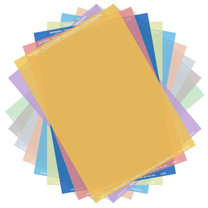 Irlen 10 Pack of Coloured Overlays