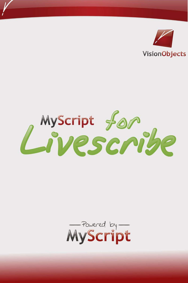 MyScript for Livescribe Software