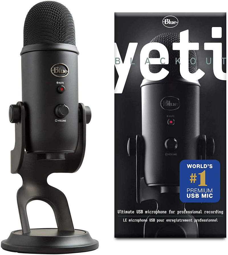 Blue Microphone YETI - High Grade USB Microphone for PC